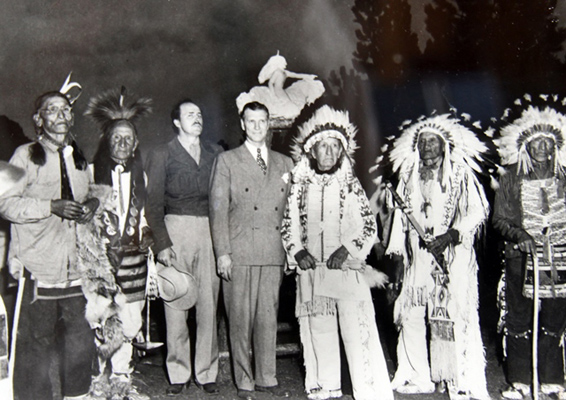 1948 Standing Bear Korczak Mickelson survivors