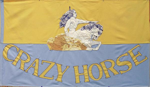 Crazy Horse Memorial Flag