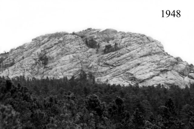 1948 image of the mountain