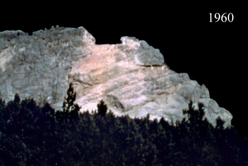 1960 image of the mountain