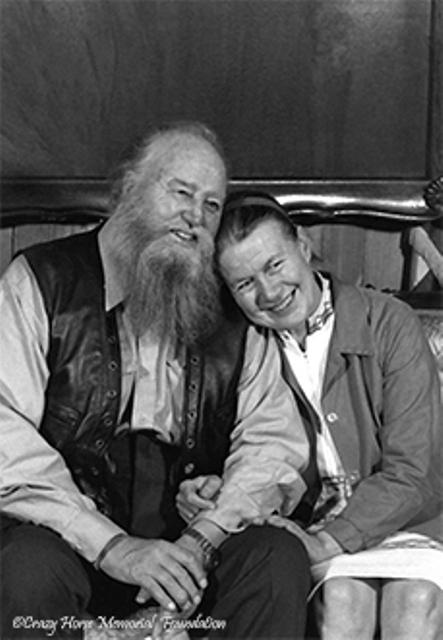 Korczak and Ruth sitting together
