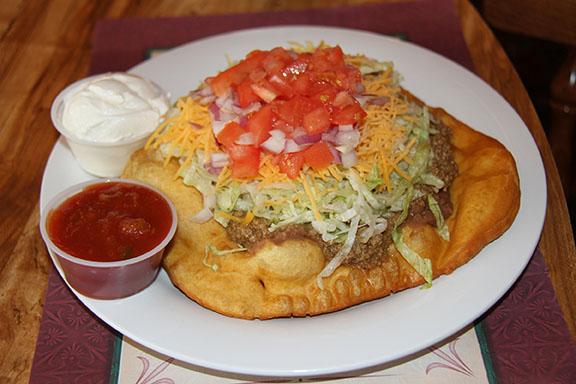 Native American Taco Dish