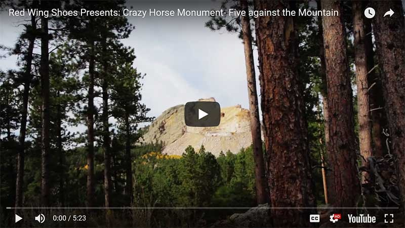 Red Wings Five Against the Mountain Video