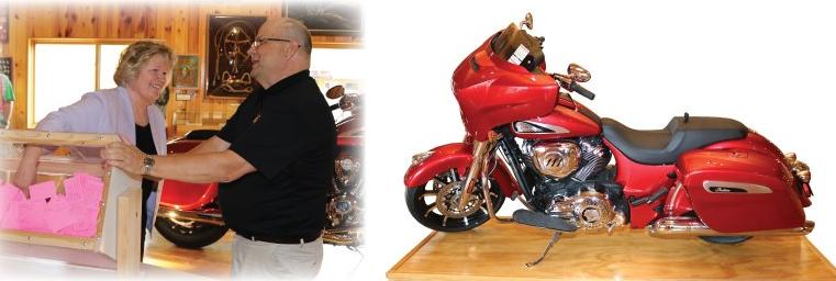 September 6, 2019 Motorcycle Raffle Winner