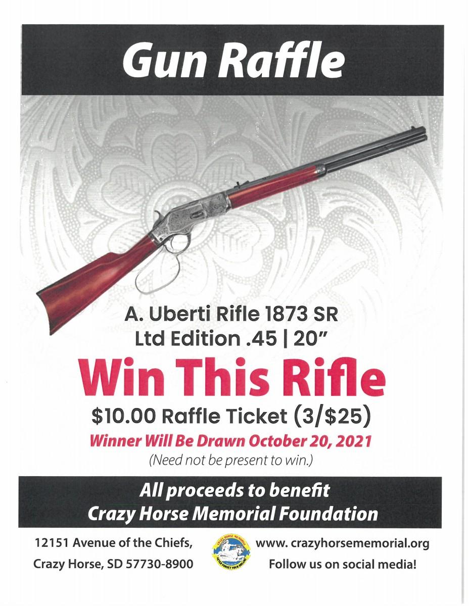 2021 Gun Raffle is Open