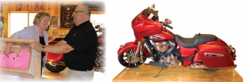 September 6, 2019 Motorcycle Raffle Winner