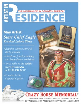 Artist in Residence for May