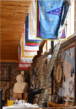 Crazy Horse Memorial's Full Tribal Flags Collection is Now on Display  for the Public