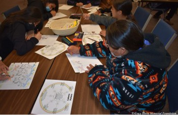 Crazy Horse Memorial's Horn Chips Collection Introduces Schoolchildren to the Real Crazy Horse