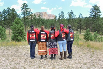 Crazy Horse Memorial Hosts 2nd Annual Medicine Wheel Riders and Showcases MMIW Display