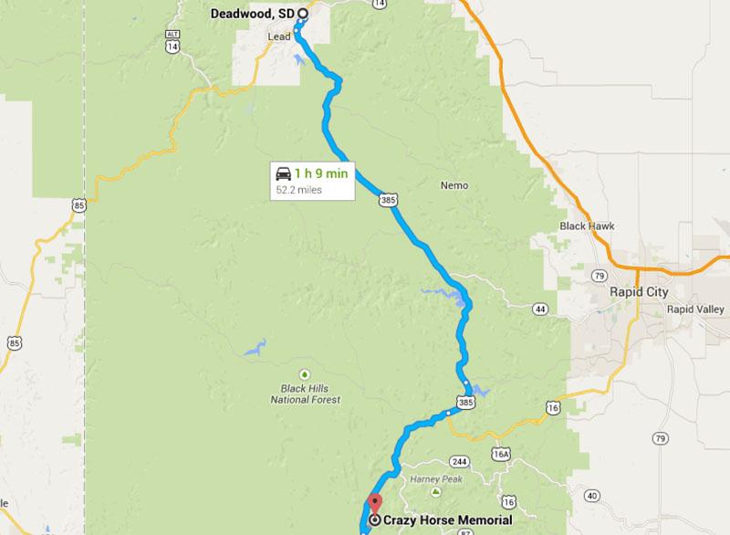 Getting To Crazy Horse Memorial Crazy Horse Memorial 174