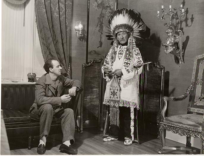Chief Henry Standing Bear and Korczak