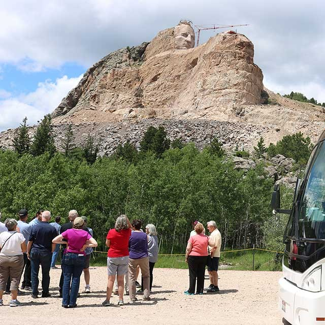 Getting to Crazy Horse Memorial
