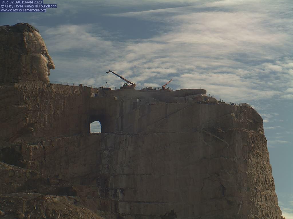 Live Webcams : Crazy Horse Memorial®