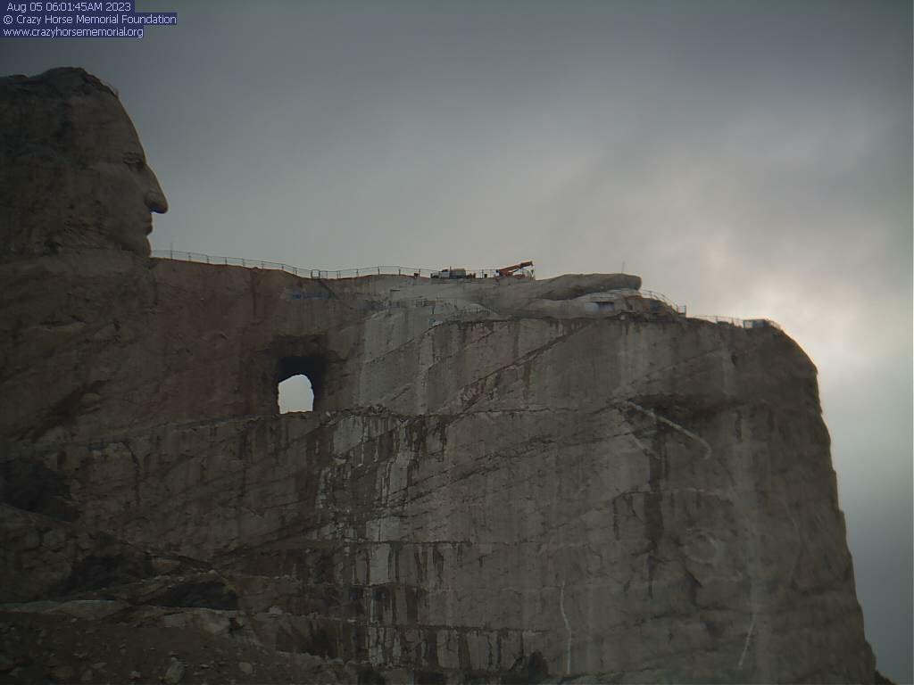 Crazy Horse Memorial live webcamsSouth Dakota