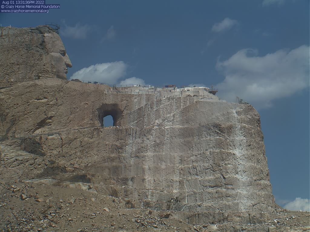 Crazy Horse Memorial Webcam - Crazy Horse, SD
