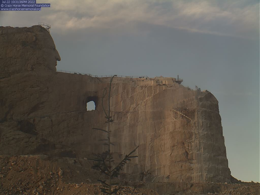 Crazy Horse Memorial Webcam Image